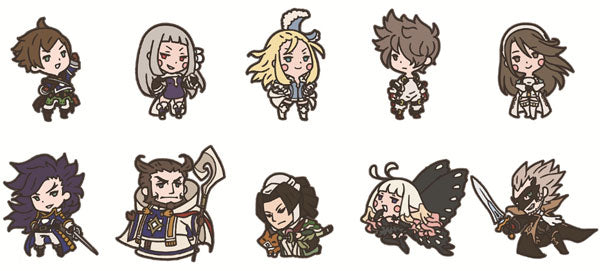 Bravely Second End Layer Rubber Straps