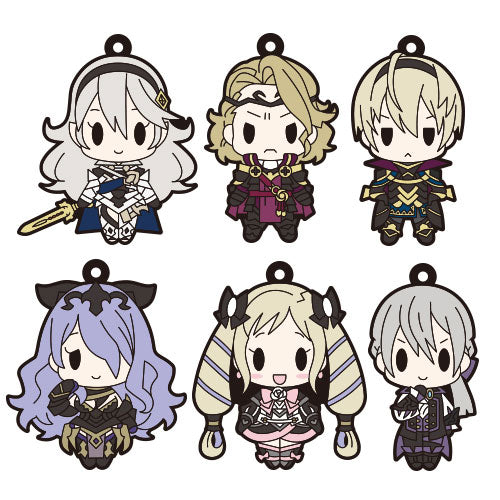 Fire Emblem Fates D4 Rubber Straps (Nohr Version)