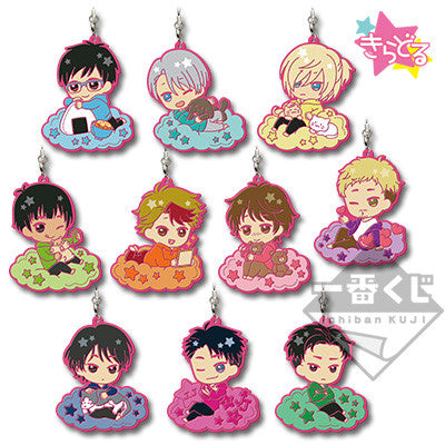 Yuri On Ice!! ~Sweet Time~ Ichiban Kuji Rubber Straps