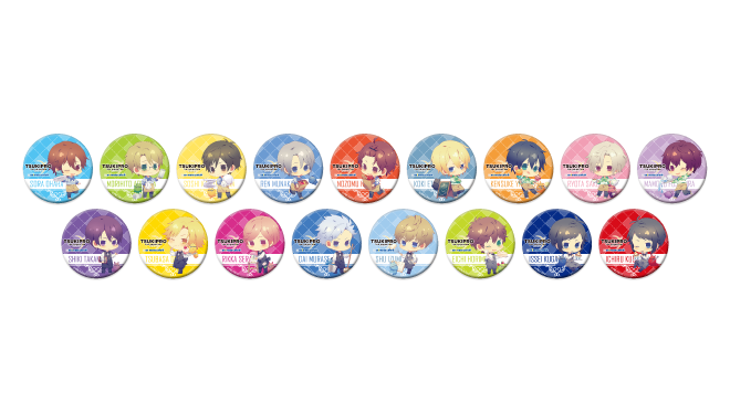 Tsukipro -The Animation- x Animate Cafe Collaboration Pins