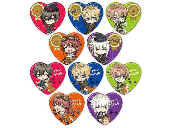 Code:Realize Heart Can Badges
