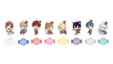 Dance with Devils -FORTUNA- x Animate Cafe Collaboration Acrylic Stands
