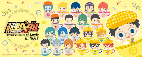 (PRE-ORDER) Yowamushi Pedal x Sanrio Cafe Collaboration Goods