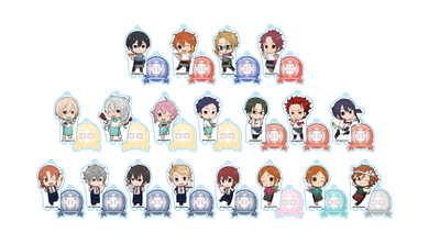 Ensemble Stars! x Animate Cafe Collaboration Acrylic Stands A