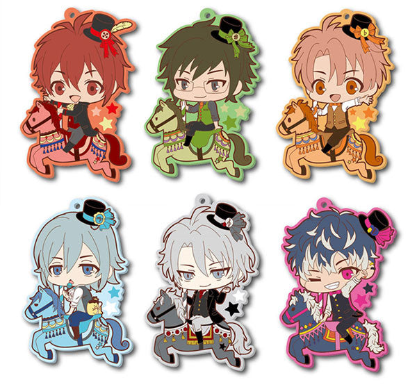 Idolish7 Toji Colle Rubber Badges Vol. 1