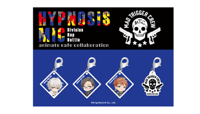 Hypnosis Mic x Animate Cafe Acrylic Charm Set: Mad Trigger Crew