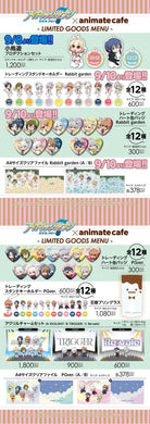 Idolish7 x Animate Cafe Collaboration Goods