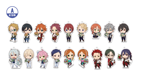 Ensemble Stars! x Animate Cafe ~2nd Anniversary!~ Set A Acrylic Charms