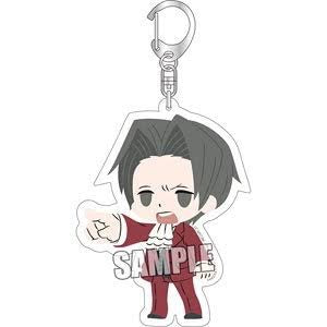 Ace Attorney Chipicco Large Acrylic Keyholder: Miles Edgeworth B