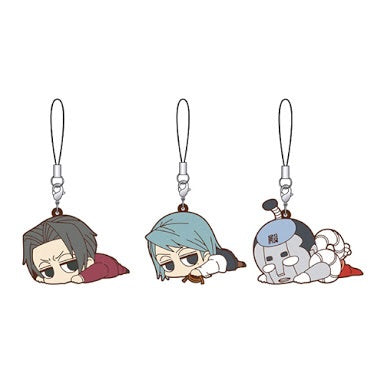 Ace Attorney Daru~n Rubber Strap Set: Prosecutors