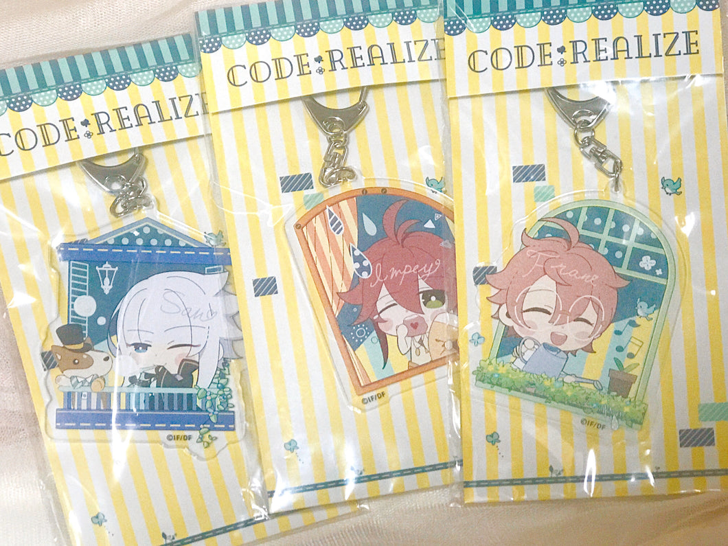 (RARE) Code:Realize Summer City Acrylic Keyholders