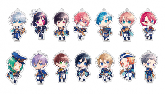 B-Project x Animate Cafe SHOP ~Dangerous Ver.~ Acrylic Charms