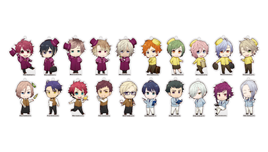 A3! x Animate Cafe Collaboration Charms