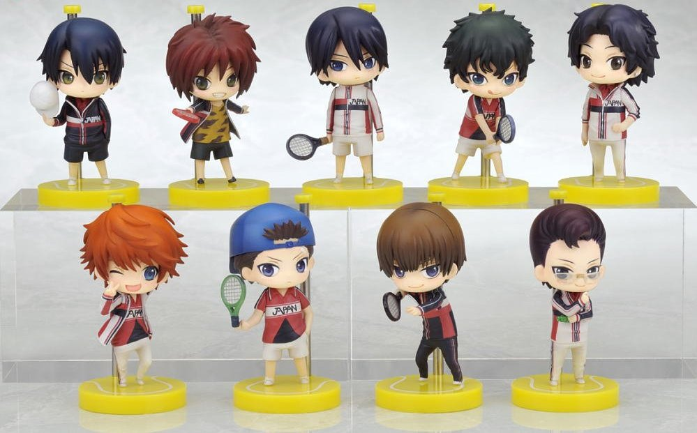 (RARE) The Prince of Tennis: The First Game One Coin Grande Figures