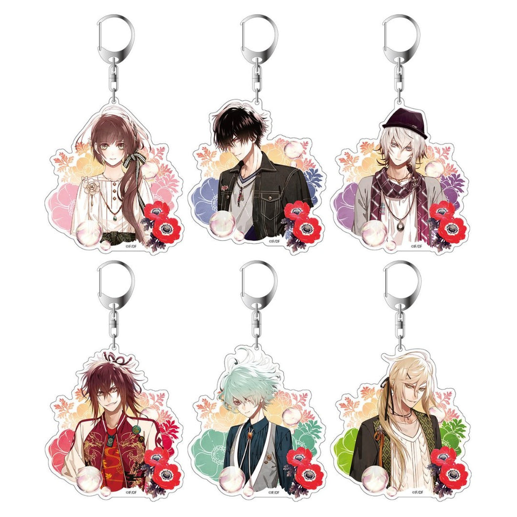 Collar x Malice THE CHARA SHOP Big Key Rings