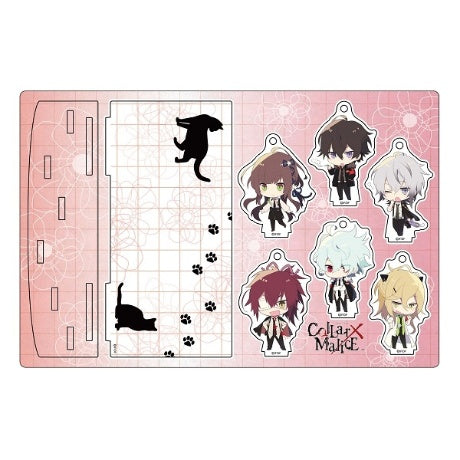 Otomate Store Exclusive Collar x Malice Acrylic Stand Set
