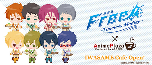 FREE! ~Timeless Medley~ x Adores Cafe Collaboration Goods