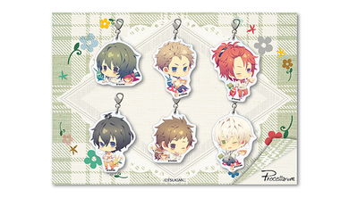 Tsukiuta ~Picnic Ver.~ x Animate Cafe Collaboration Procellarum Ver. Charm Pack