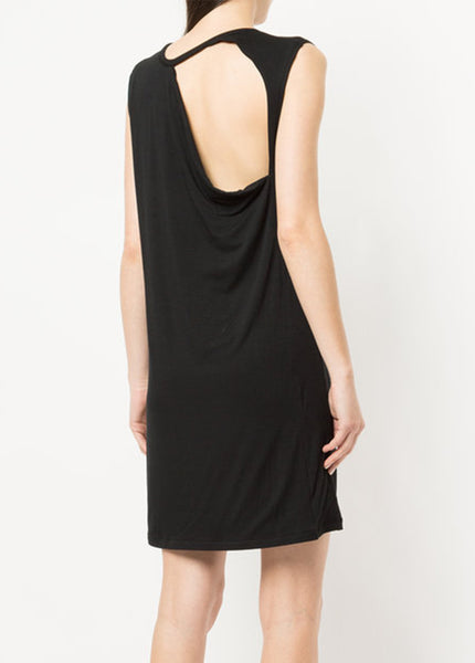 Petite Collapse Back Mini Dress