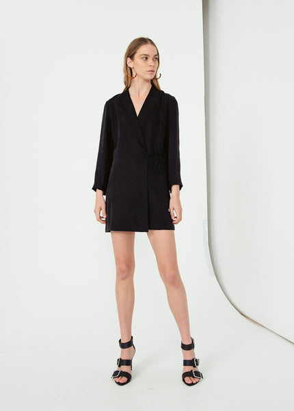 Shadow Play Blazer Dress