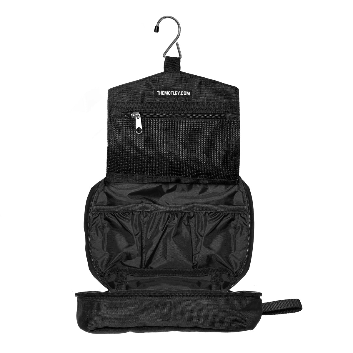 The Motley Waterproof Jetsetter Tri-Fold Travel Dopp Bag