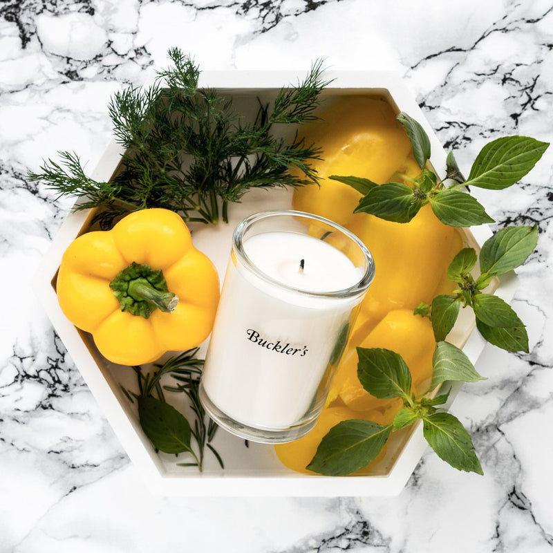 Buckler's Tomato Leaf Candle