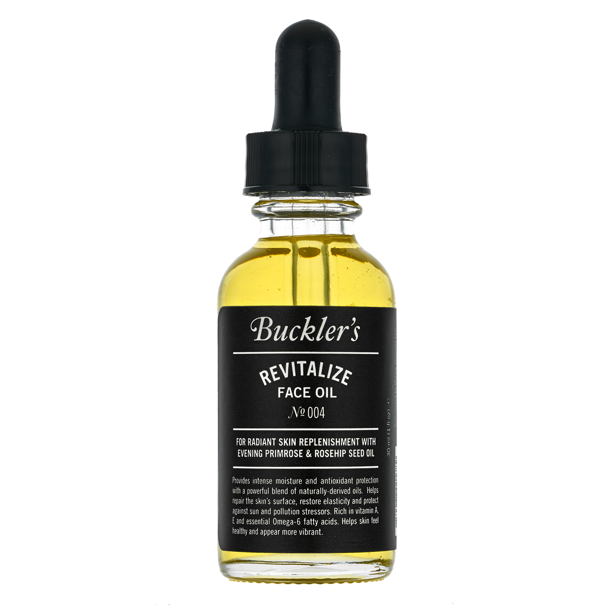 Buckler's Revitalize Face Oil