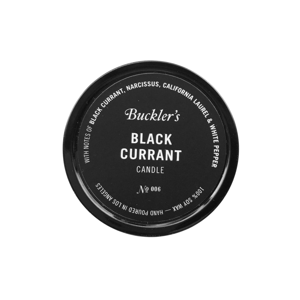 Buckler's Black Currant Candle