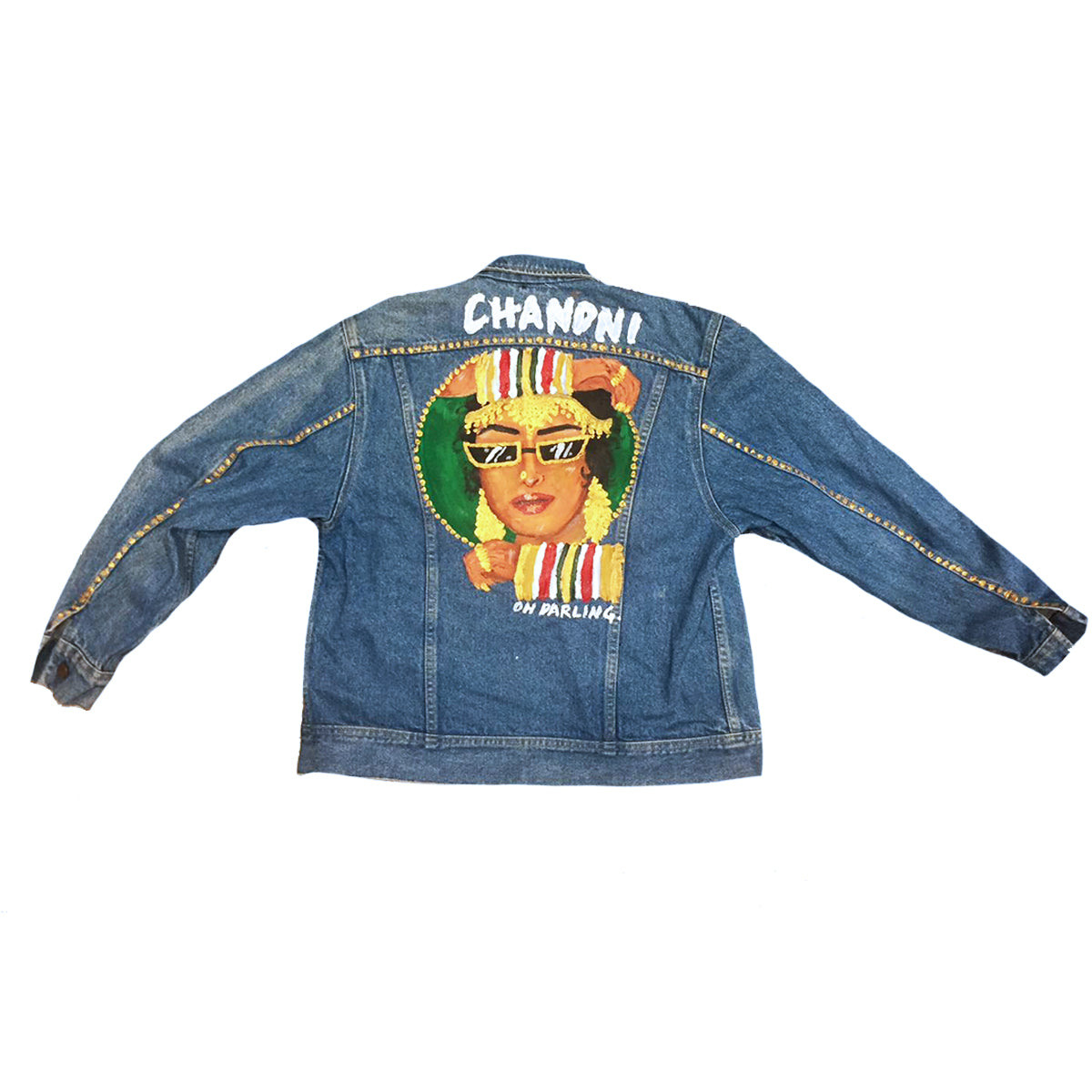 CHANDNI - Hand Painted Jacket