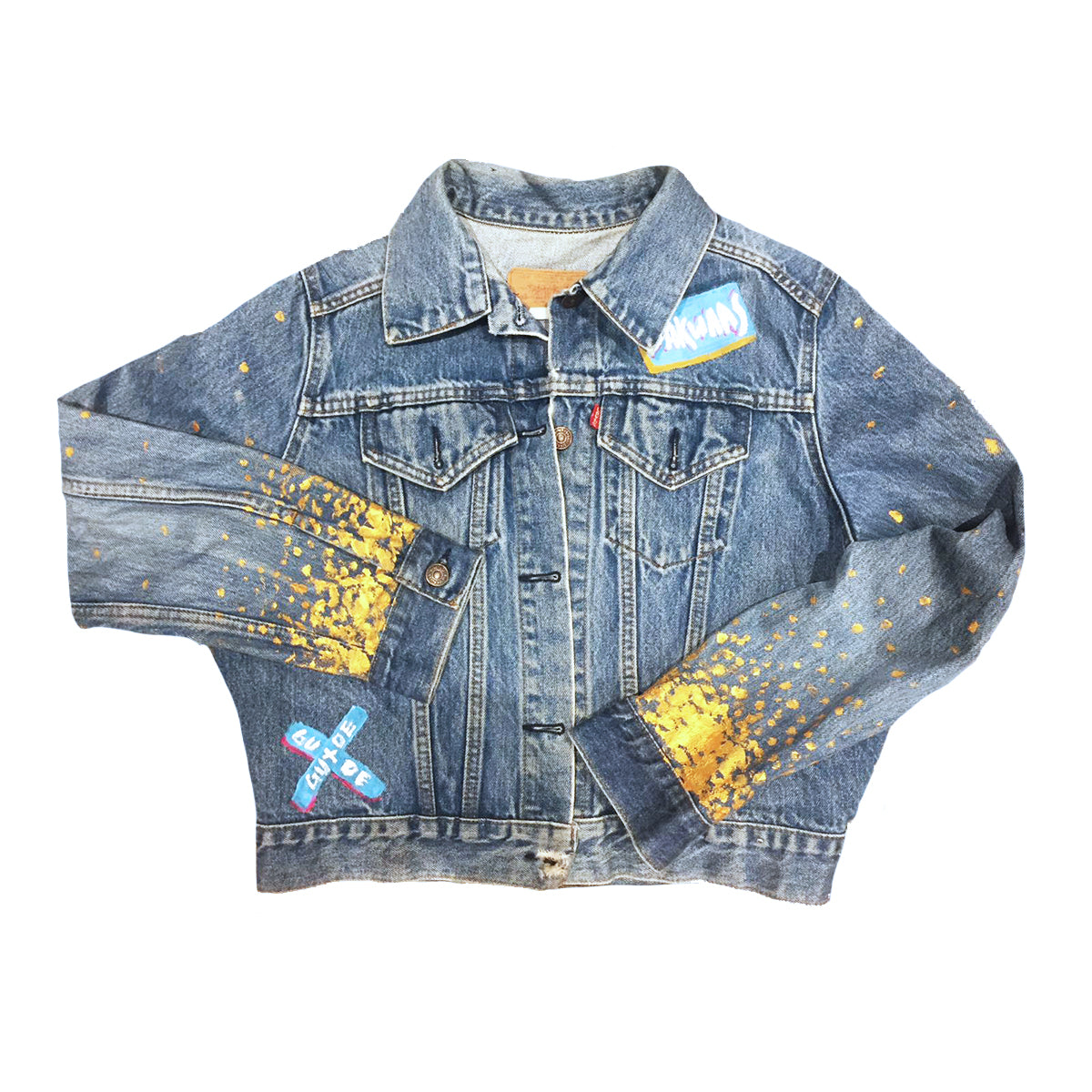 GUIDE - Hand Painted Jacket - Babbuthepainter