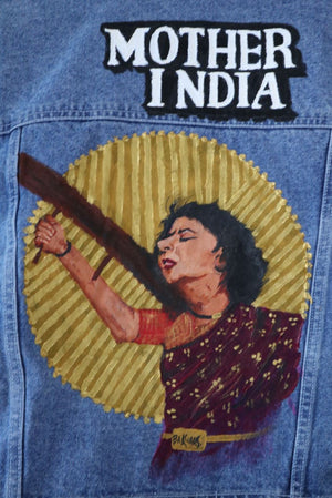 MOTHER INDIA - Hand Painted Jacket
