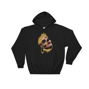 BAD BETI - Hooded Sweatshirt - Babbuthepainter