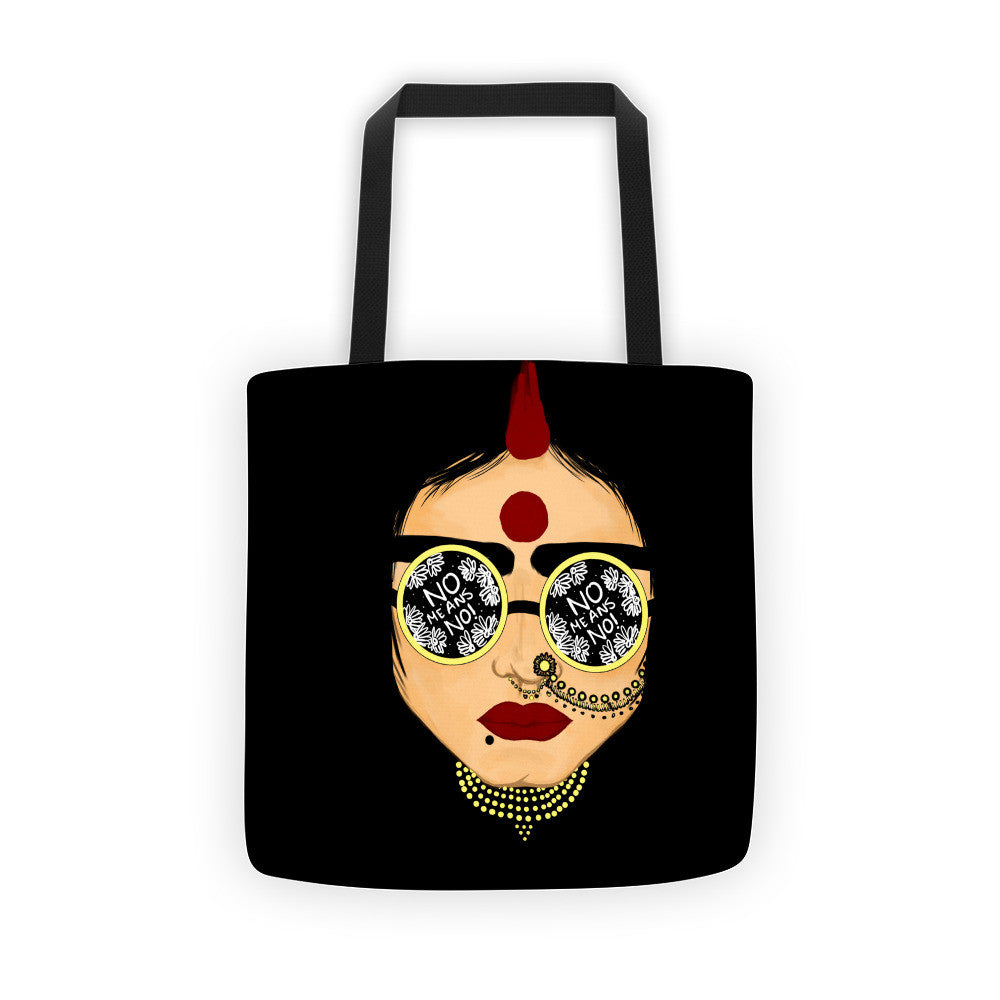 No means No - Tote bag - Babbuthepainter
