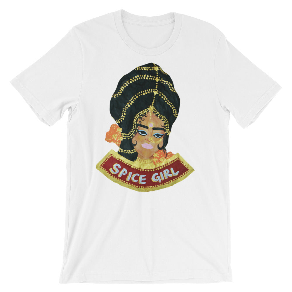 SPICE GIRL - Short-Sleeve Unisex T-Shirt - Babbuthepainter