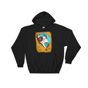 MUGHAL E AZAM - Hooded Sweatshirt - Babbuthepainter