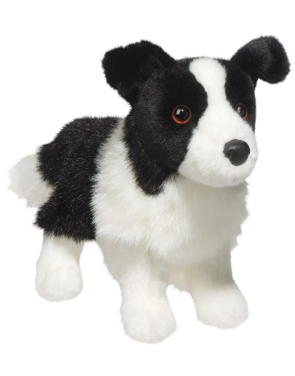 Zippy Border Collie Stuffed Animal