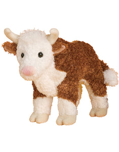 Tumble Weed Hereford Bull Stuffed Animal