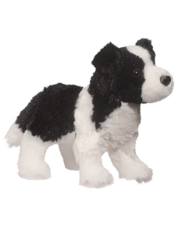 Meadow Border Collie Stuffed Animal