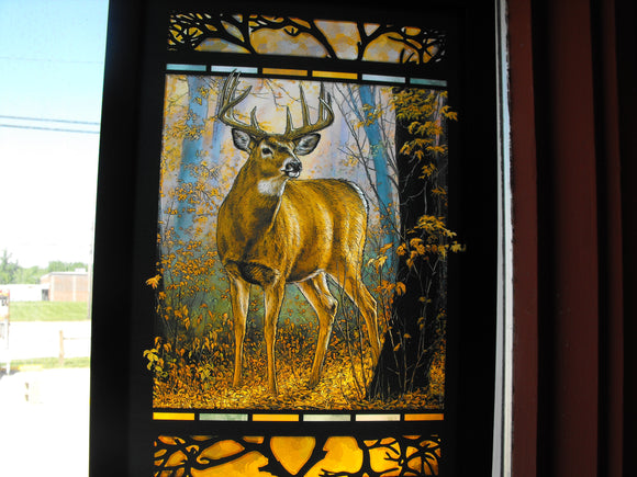 Stain glass artwork
