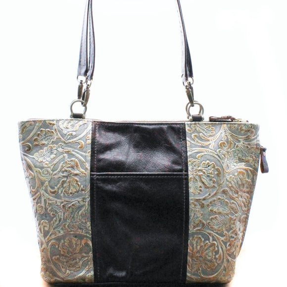 Miss Kitty - Cowboy Pewter - Texas Carpet Bagger Purse
