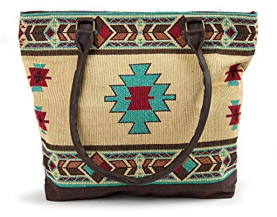 Carrizo Woven Shoulder Bag