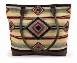 Chief Blanket Woven Shoulder Bag