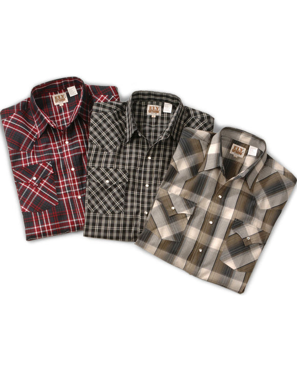 Assorted Plaid Ely Walker