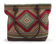 Izmar Woven Shoulder Bag