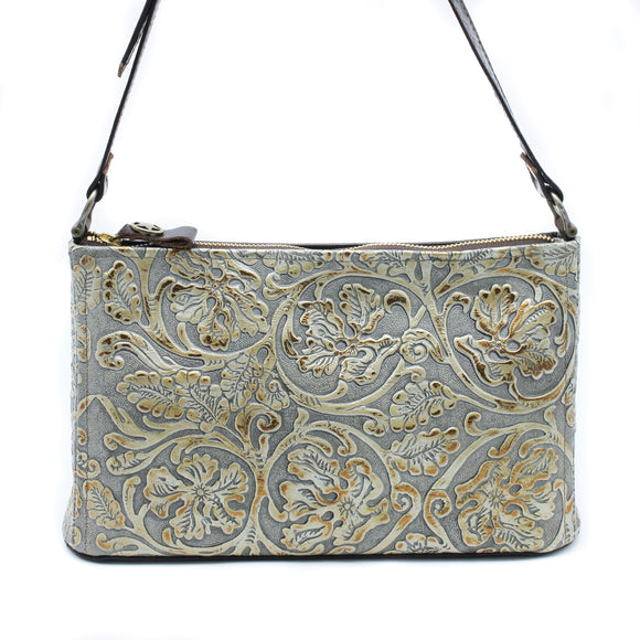 Skinny Damn - Cowboy Pewter - Texas Carpet Bagger Purse