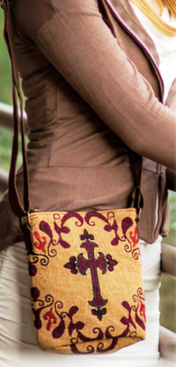 Western Cross Cross Body Purse