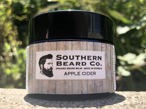 Apple Cider Organic Beard Balm - Southern Beard Co.