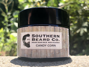 Candy Corn Organic Beard Balm - Southern Beard Co.