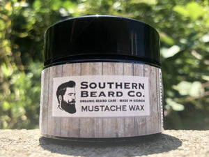All Organic Mustache Wax - Southern Beard Co.