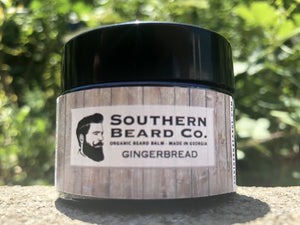 Fresh Baked Gingerbread Organic Beard Balm - Southern Beard Co.